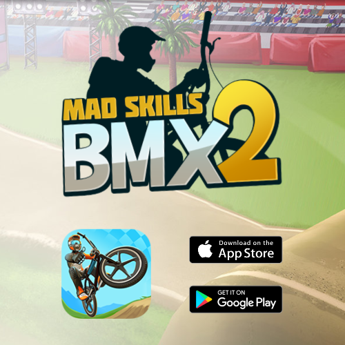 Mad Skills Bmx 2 - sound design and music project