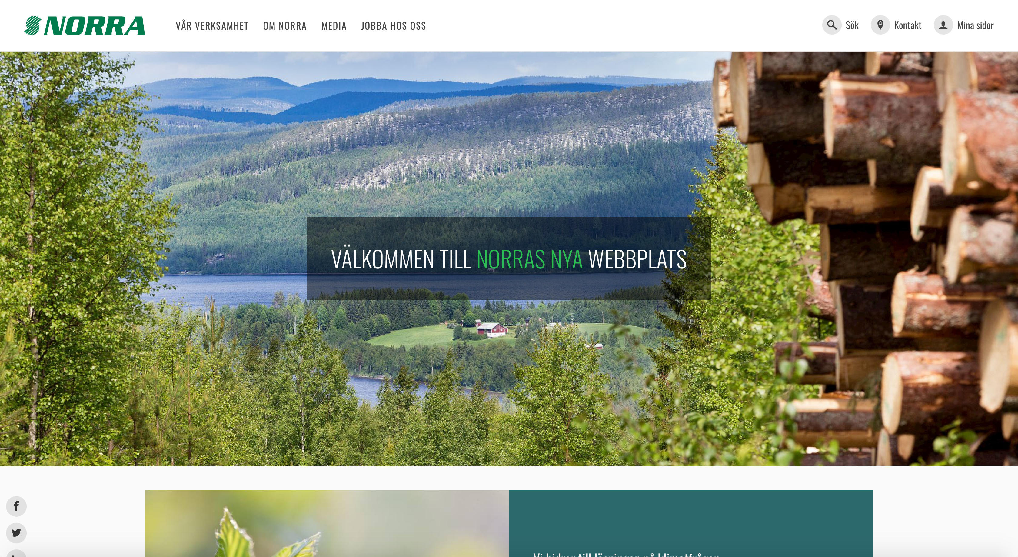 Norra Skogsägarna - New UI / UX design