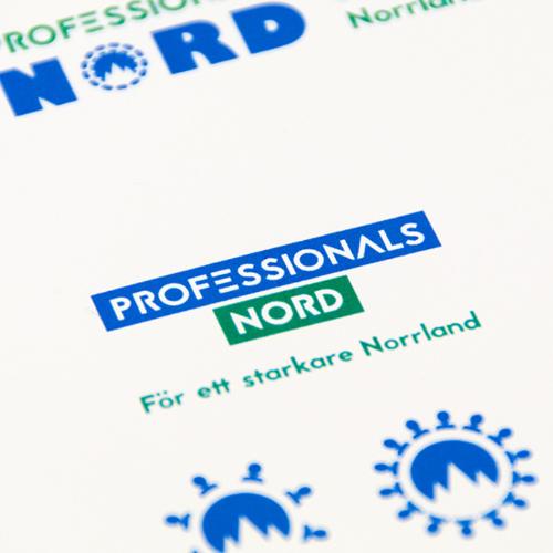 Professionals Nord - Logo design