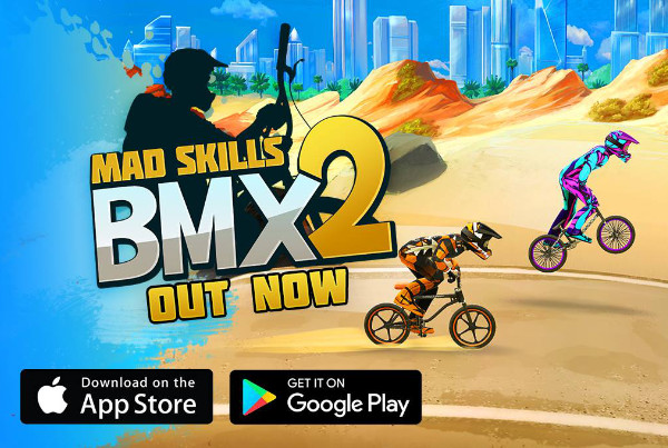The sound of Mad Skills BMX 2