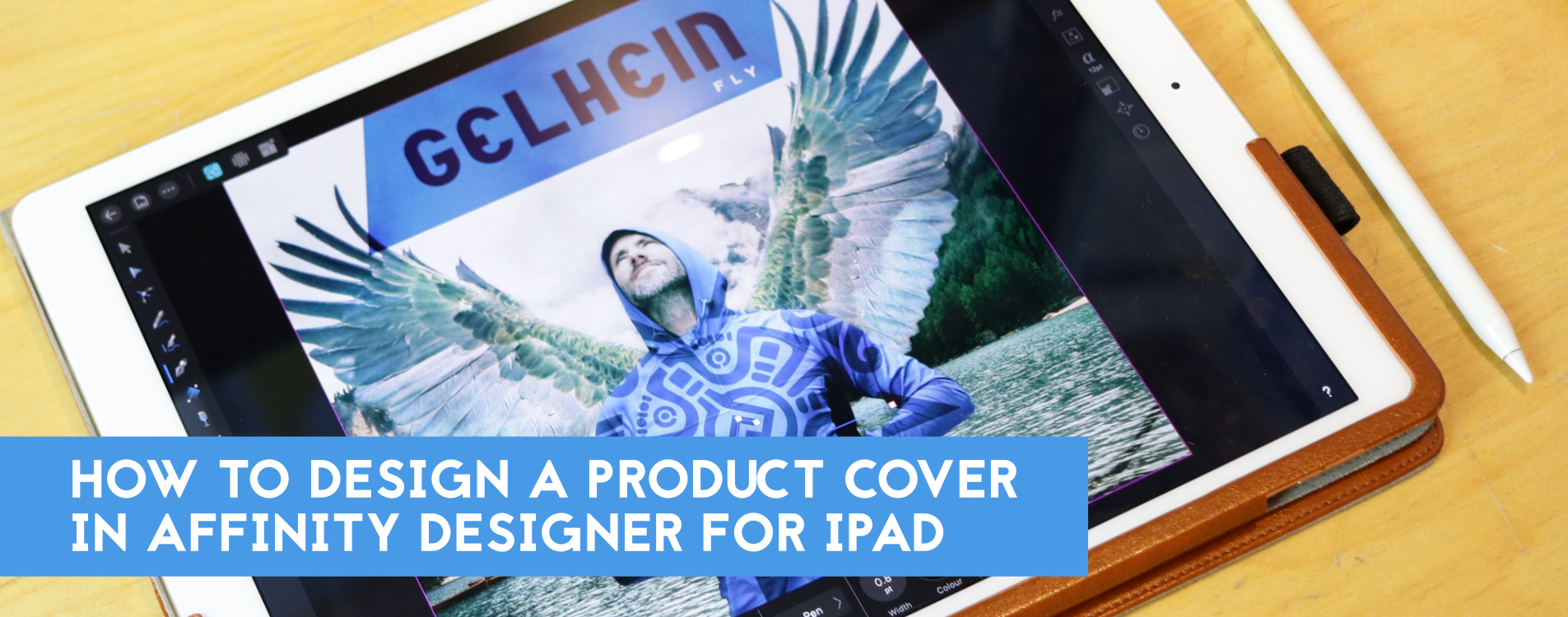 How to design album cover graphics with Affinity Designer for iPad