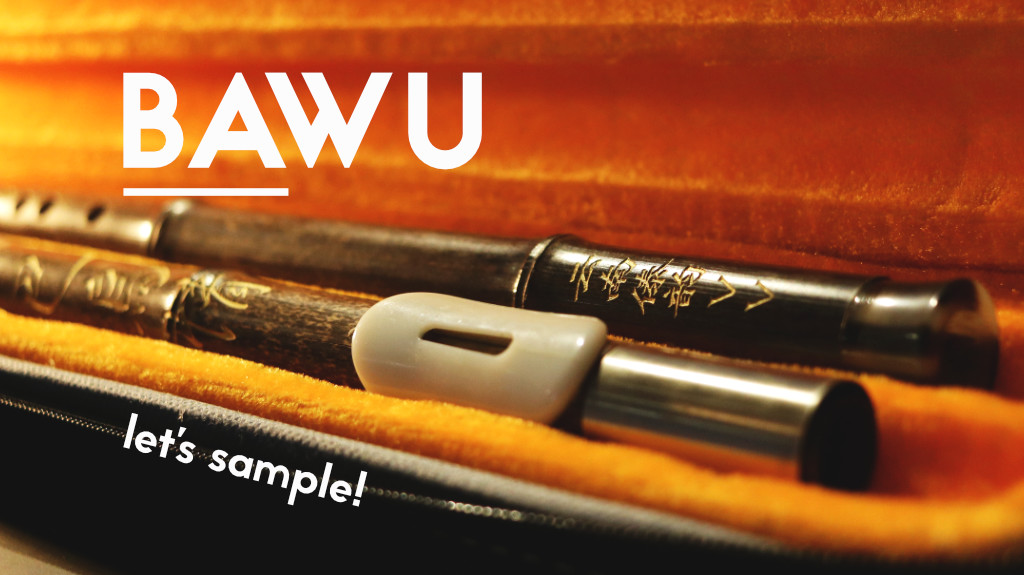 How to create cinematic sounds - Bawu Chinese Woodwind Flute