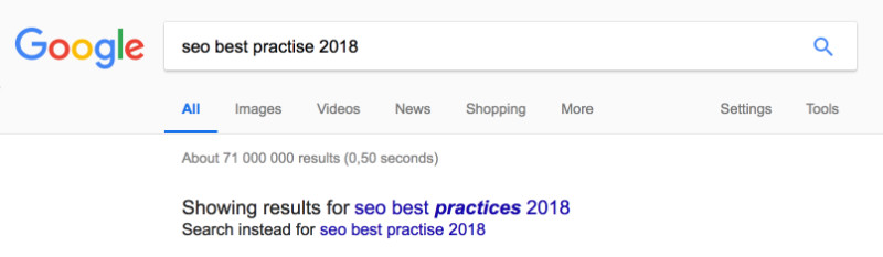 How to find great topics for new blog post videos - Google Search Result for a new article topic.