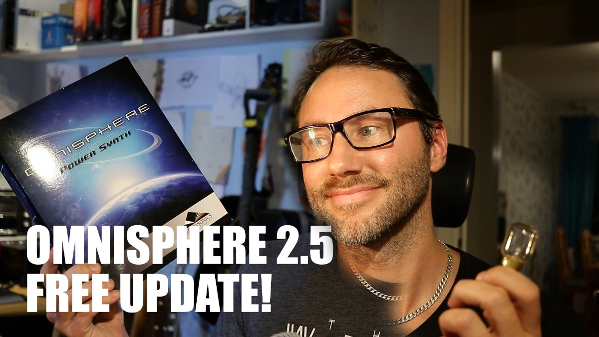 Omnisphere 2.5 - First Look and sound design