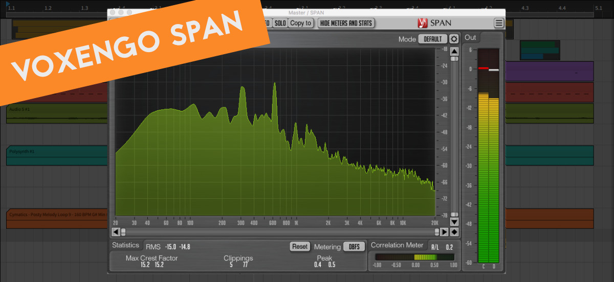 Voxengo Span - Spectrum Analyzer plugin