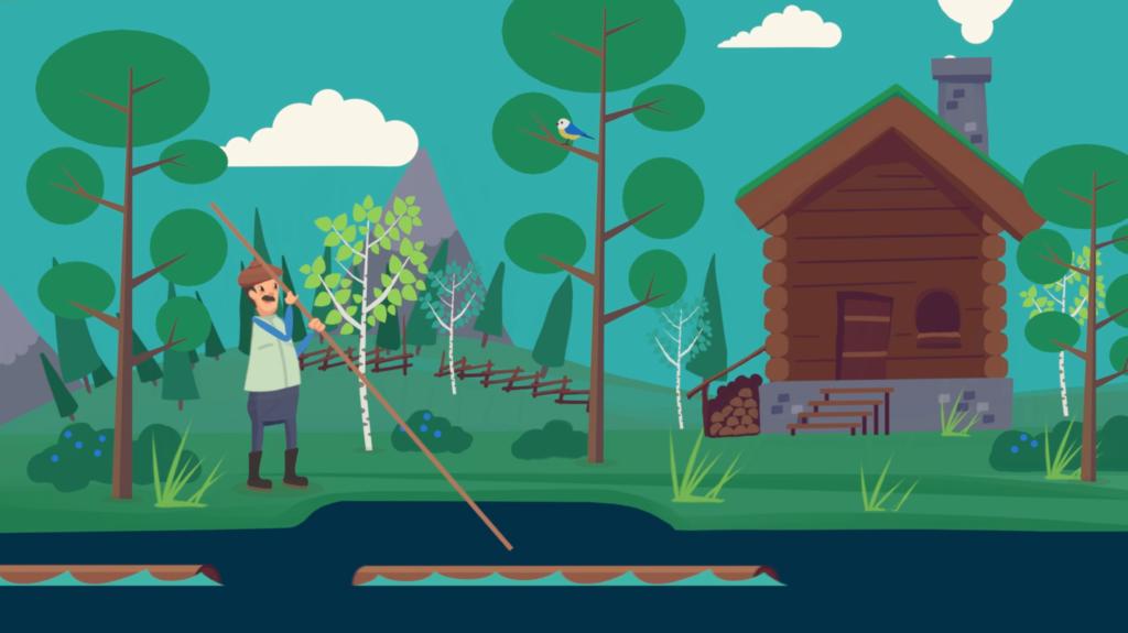 Skogens klimatnytta illustration