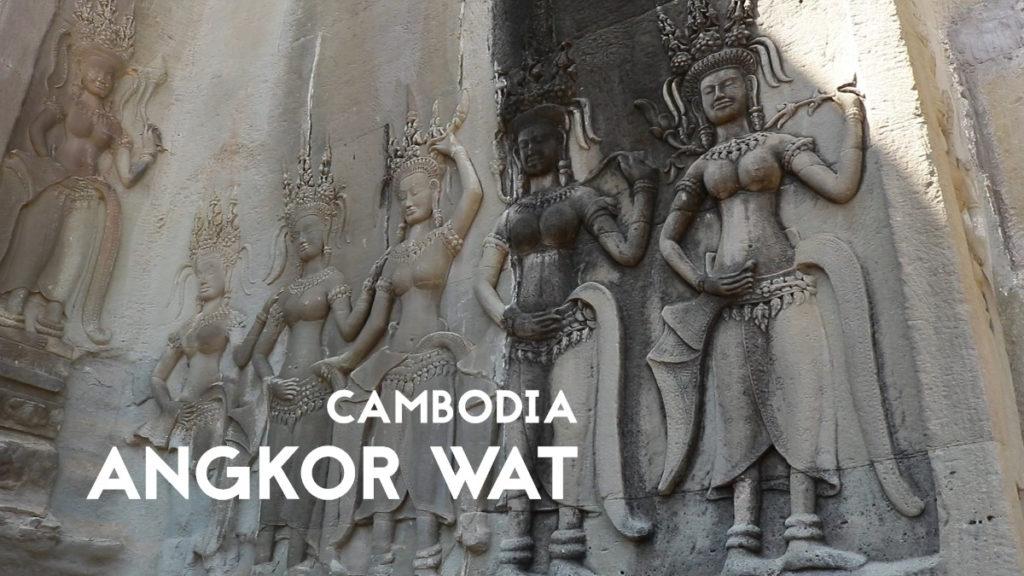 Angkor Wat Rock Paintings