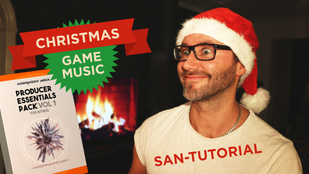 Christmas Game Music in Bitwig 2018