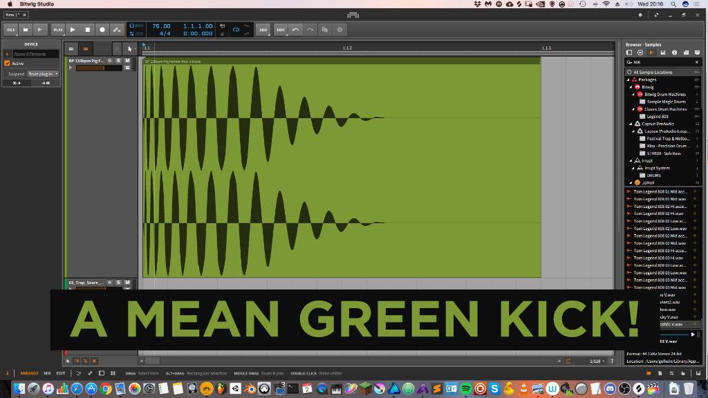 How do producers make drum kits - Kicks