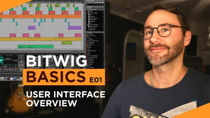 Bitwig Studio Basics Video Tutorials