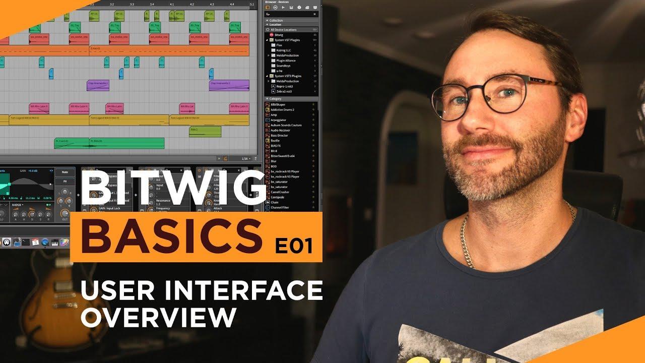 Bitwig Studio Basics Video Tutorials