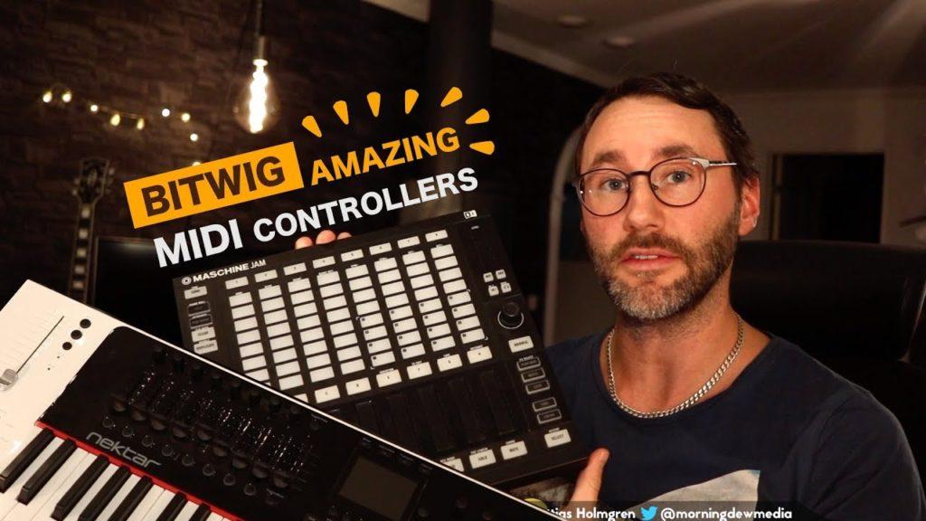 Using Maschine Jam in Bitwig Studio
