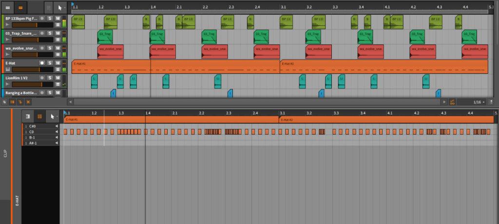 How do producers make drum kits - Trap HiHat