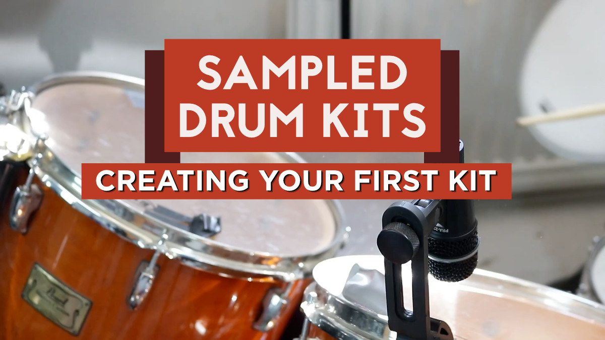 Sampled drum kits