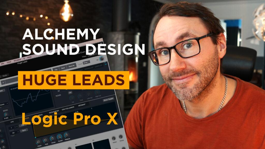 Alchemy Sound Design - Huge Leads in Logic Pro X.