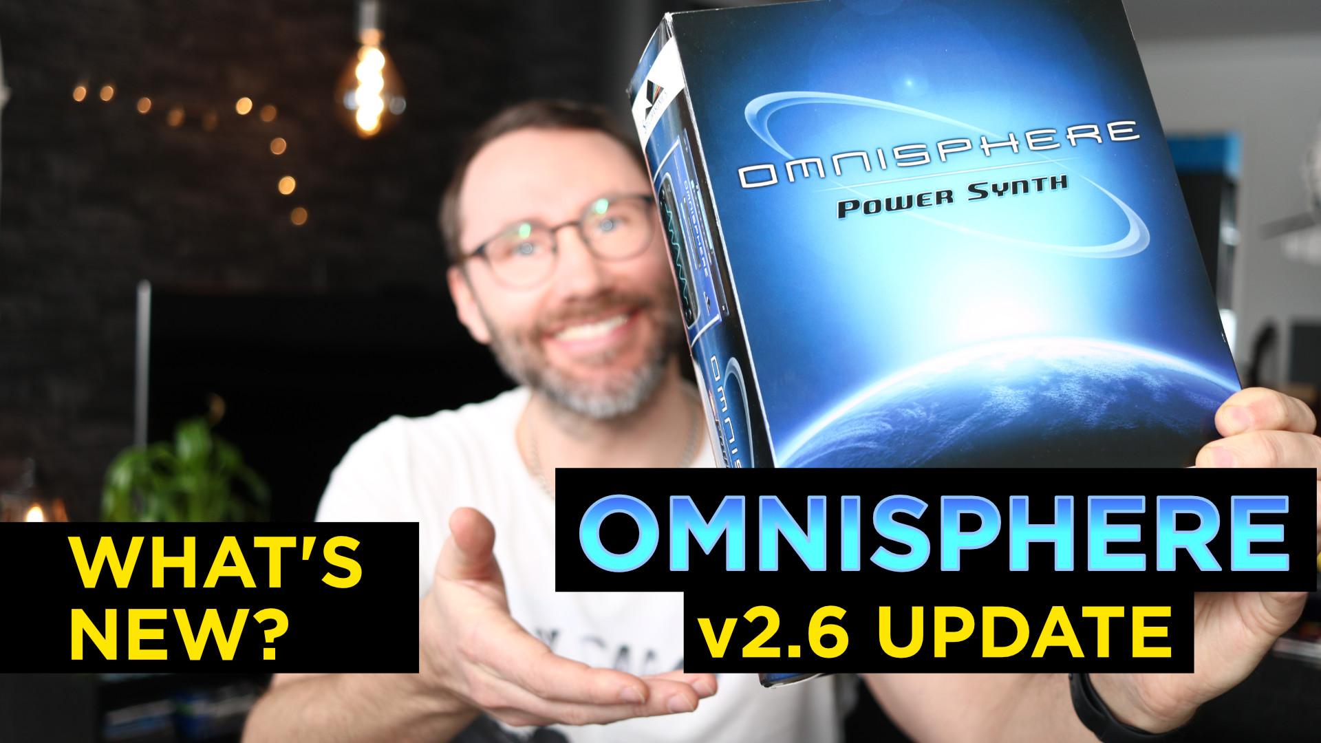 Omnisphere 2.6 First Look