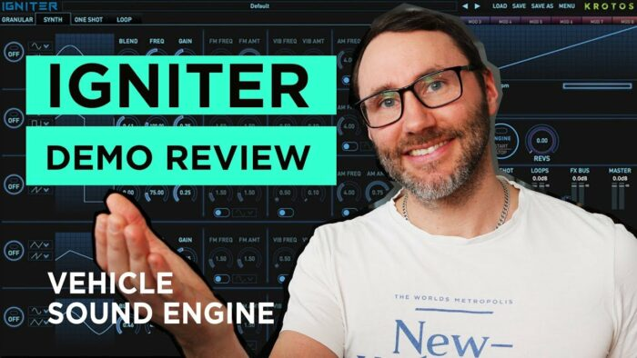Engine Sound Design Plugin IGNITER Demo & Review (2019)
