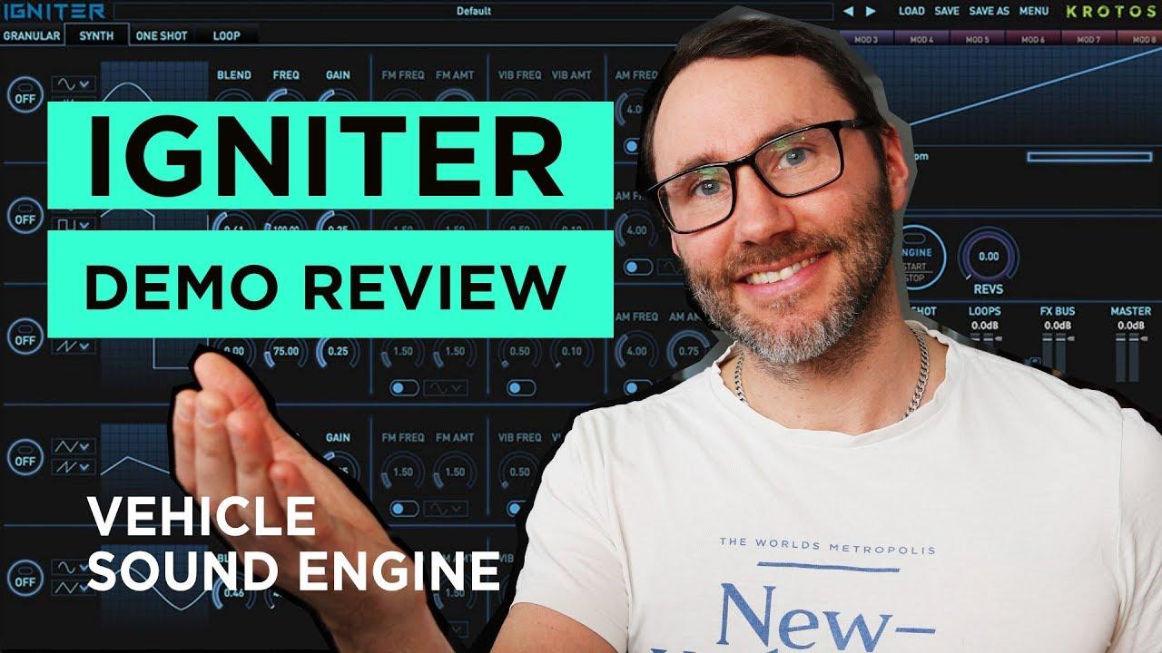 Engine Sound Design Plugin IGNITER Demo & Review (2019)
