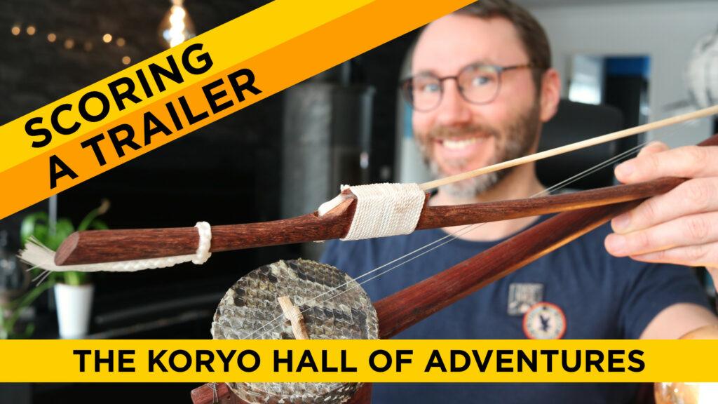 How to make kickstarter background music - oriental instruments