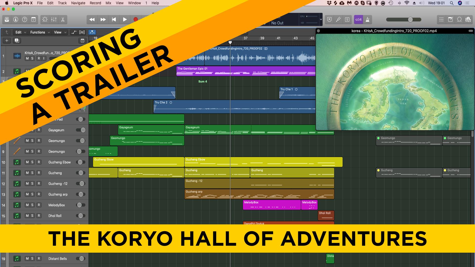 How to make Kickstarter background music