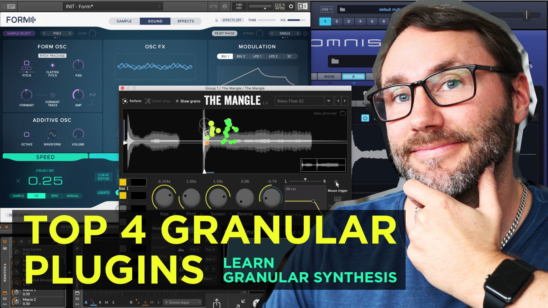 learn granular synthesis