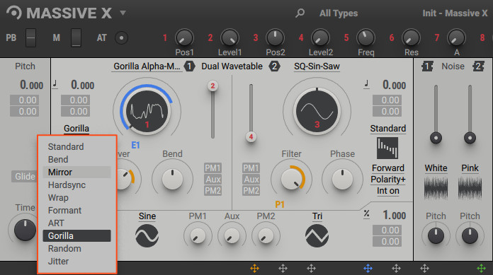demo of the new gorilla oscillator effect