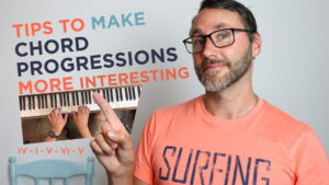 How to make chord progressions more interesting