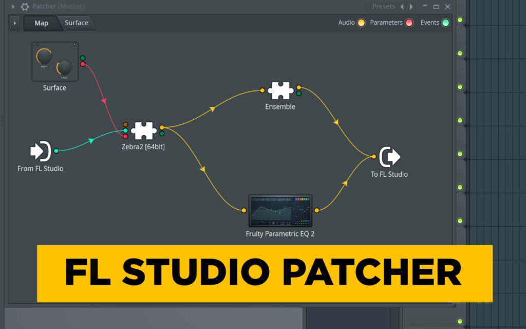 fl studio patcher vs bitwig the grid