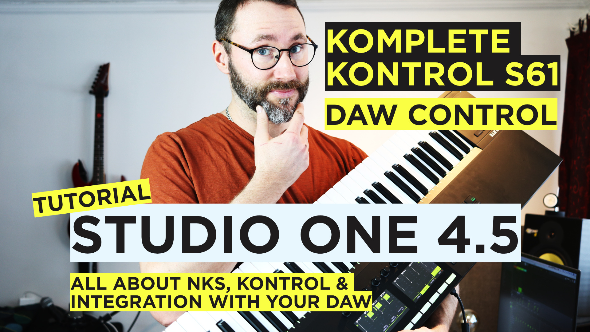 how to set up komplete kontrol mk2 in studio one 4