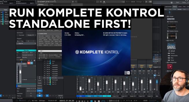 set up komplete kontrol in studio one 4
