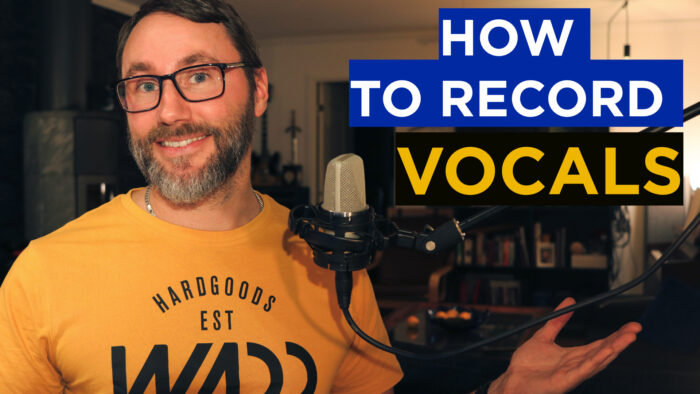 how to record vocals into the daw