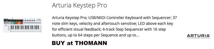 Buy Arturia KeyStep Pro