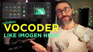 Bitwig Vocoder like Imogen Heap's Hide and seek