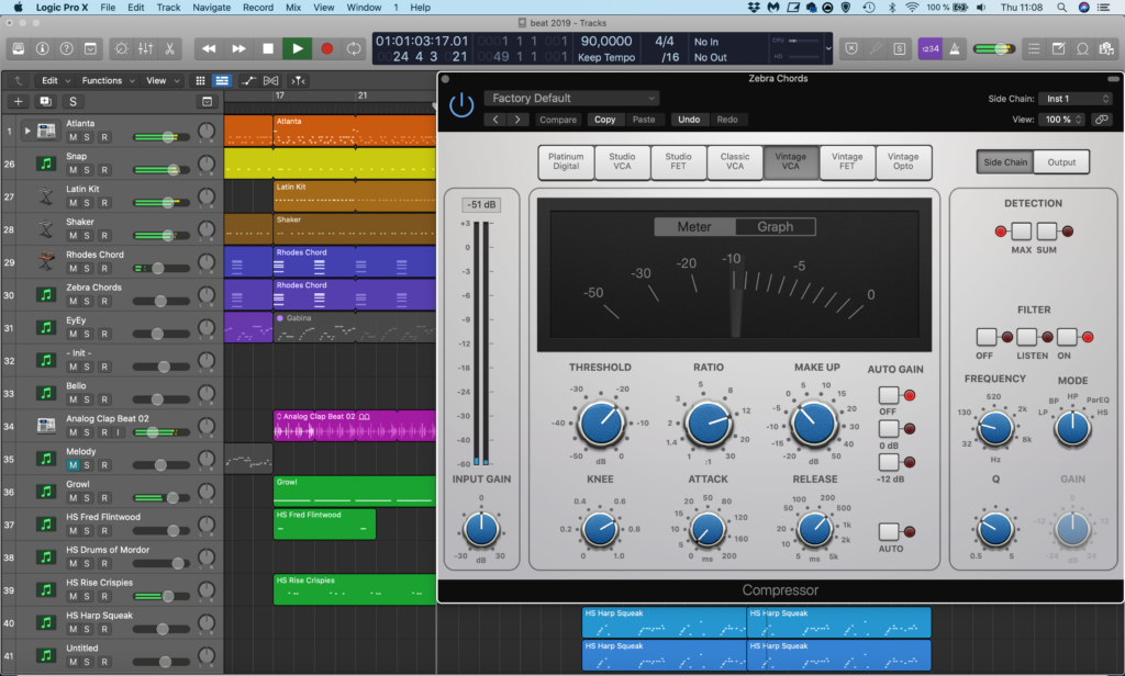 Logic Side Chain Compressor