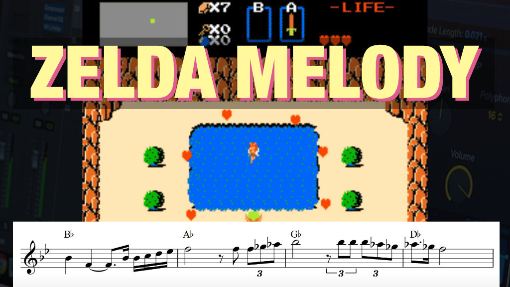 the legend of zelda melody