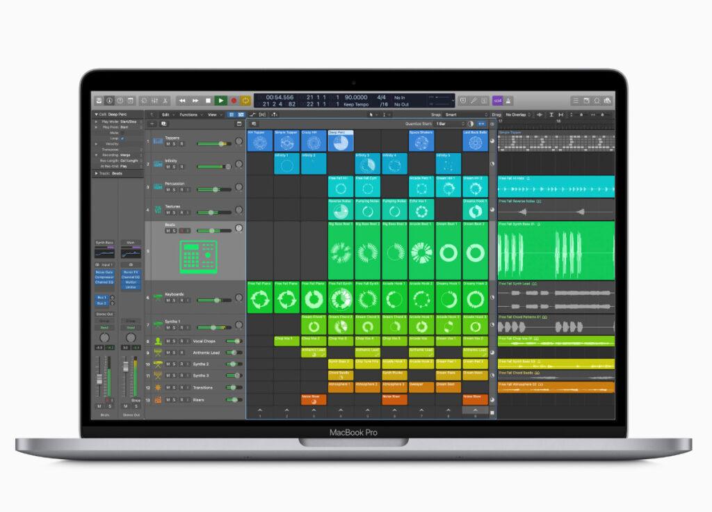 MacBook Pro M1 - Logic Pro 10.6