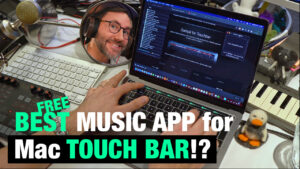 Make music with the Macbook touch bar - Samplr