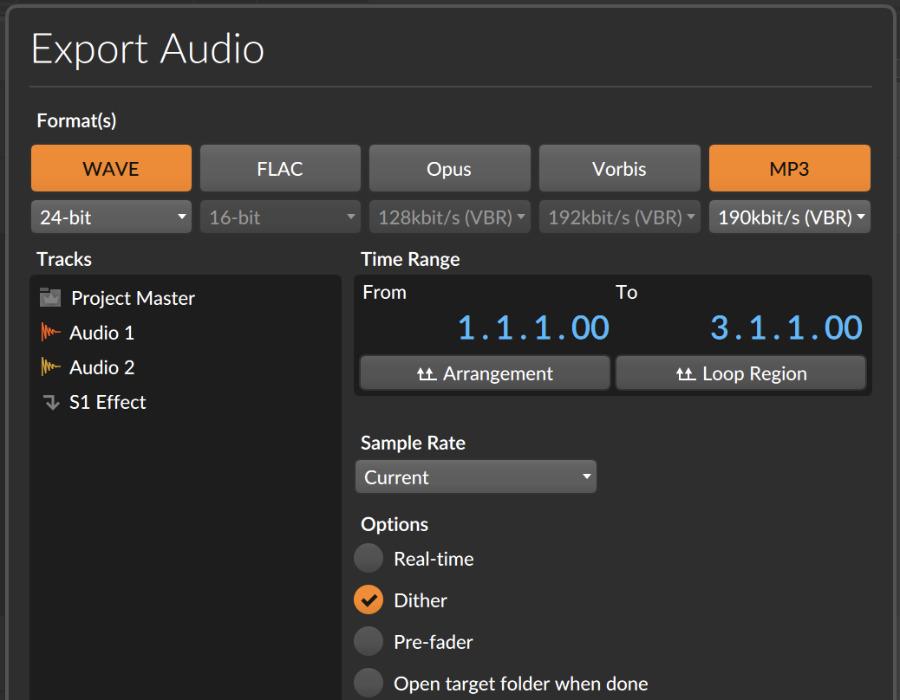 bitwig-studio-4-mp3-export