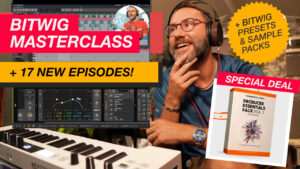Bitwig Masterclass now available